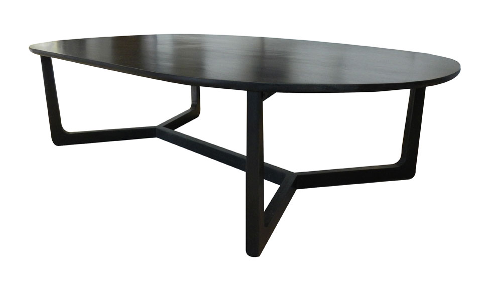 Geo Oval Coffee Table Make Your House A Home Bendigo