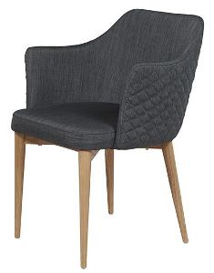 carter diamond armchair