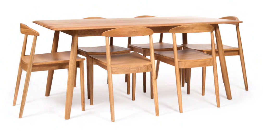 Nordic Dining Chairs and Table