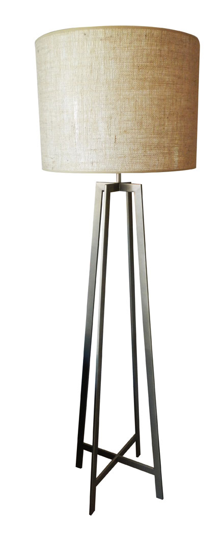 Inox Floor Lamp