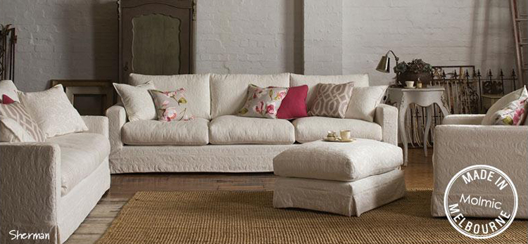 Molmic sherman sofa make your house a home bendigo for Homemakers furniture coupons