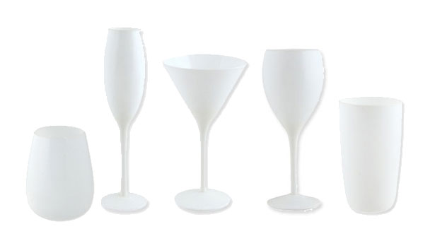 S&P White Glassware Range
