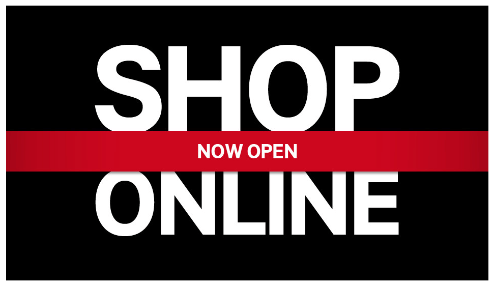 Our online store is open